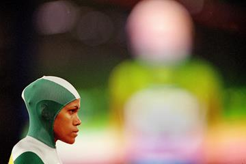 Cathy Freeman at the start of the 400m at the 2000 Olympic Games in Sydney (Getty Images)