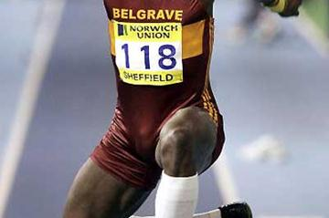 Olympic finalist Phillips Idowu leaps to 17.30m in Sheffield (Getty Images)