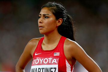 Brenda Martinez at the IAAF World Championships (Getty Images)