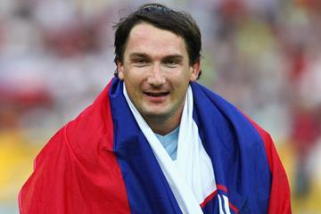 Slovenian hammer thrower Primoz Kozmus (Getty Images)