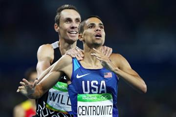 Matthew Centrowitz after winning the 1500m at the Rio 2016 Olympic Games (Getty Images)