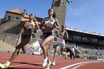 Meseret Defar in her 10,000m debut in Stockholm (Hasse Sjögren)