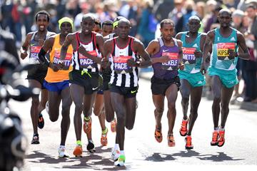 Leaders during the 2016 London Marathon (Getty Images / AFP)