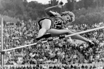 Romanian high jumper Iolanda Balas (AFP / Getty Images)