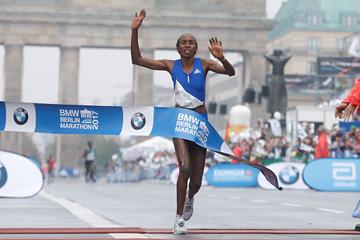 Gladys Cherono wins the Berlin Marathon (AFP / Getty Images)