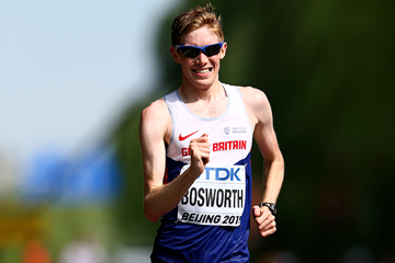 Tom Bosworth in the 20km race walk at the IAAF World Championships (Getty Images)