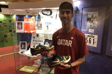 Qatari long jumper Rasheed Abdullah Al-Suwaid (IAAF)