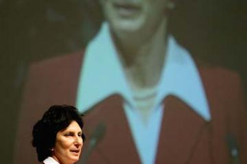 Irena Szewinska of Poland is elected to the IAAF Council (Getty Images)