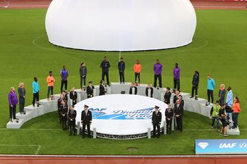 The Diamond Race winners at the IAAF Diamond League meeting in Zurich (Jean-Pierre Durand)