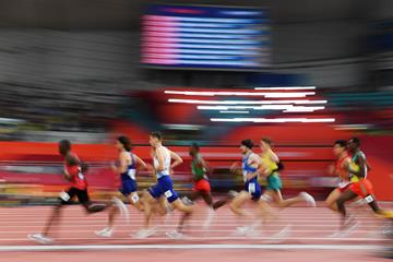 Runners in the men's 1500m semi-finals at the IAAF World Athletics Championships Doha 2019 (IAAF)