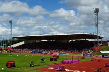 Gateshead International Stadium during the 2013 European Athletics Team Championships (Getty Images)
