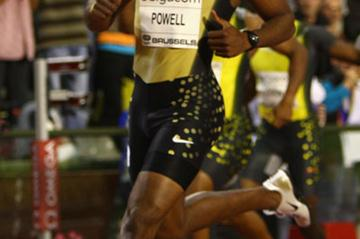 Asafa Powell dominates in Brussels (Getty Images)
