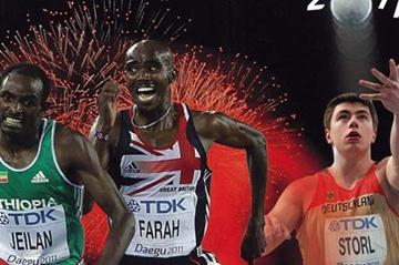 The cover of the 2011 IAAF Yearbook (IAAF)
