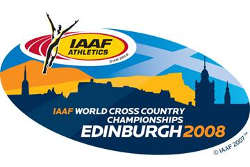 Edinburgh 2008 World Cross Country Champs Logo (c)