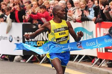 Micah Kogo takes the Great Birmingham Run title (Organisers)
