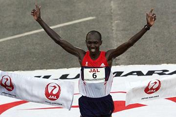 Wilson Kipsang wins the Honolulu Marathon (Organisers)