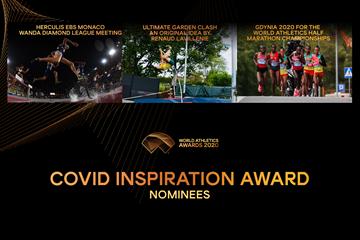Nominees for the Covid Inspiration Award (Getty / Dan Vernon)