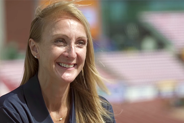Paula Radcliffe on IAAF Inside Athletics (IAAF)