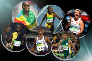 World Athlete of the Year 2016 finalists (Getty Images)