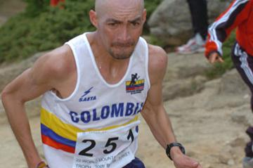 Rolando Ortiz of Colombia - World Mountain Running Trophy (Pete Hartley)
