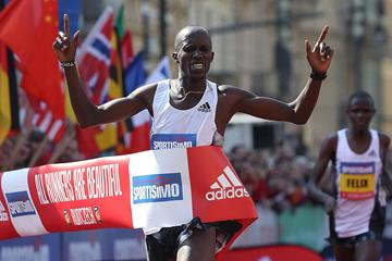 Another Prague Half Marathon victory for Benard Kimeli (Giancarlo Colombo/organisers)