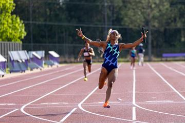 Sha'Carri Richardson anchors Star Athletics to 4x100m victory at the USATF Sprint Summit (Josh Gurnick/USATF)