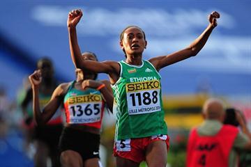 Gotytom Gebreslase, 3000m World youth champion  (Getty Images)
