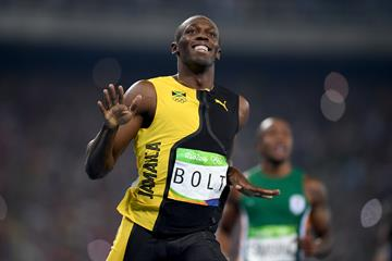 Usain Bolt wins the 100m at the Rio 2016 Olympic Games (Getty Images)