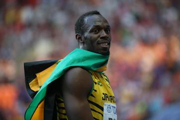 DAY 8 (17/08/2013): Usain BOLT, 200 Metres, Men Final (EOS-1D X + EF200-400mm F4L IS USM Extender 1.4x, F4.0, 1/800sec., ISO3200) (Jun Tsukida)