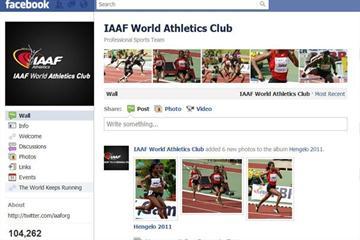 IAAF Facebook page (IAAF / Facebook)