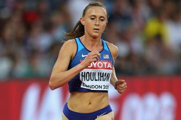 Shelby Houlihan in action at the IAAF World Championships London 2017 (Getty Images)