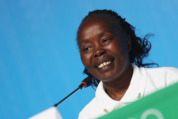 Refugee Olympic Team Chef de Mission Tegla Loroupe (Getty Images)