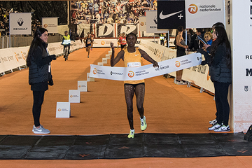 Brigid Jepchirchir Kosgei wins the San Silvestre Vallecana in Madrid (Organisers)