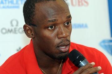 Usain Bolt in Lausanne (ATHLETISSIMA/Denis Roulet)