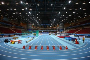 The athletics track at the ERGO Arena in Sopot (Getty Images)