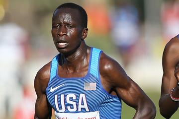 Leonard Korir at the IAAF World Cross Country Championships Kampala 2017 (Roger Sedres)