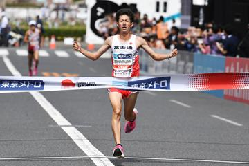 Shogo Nakamura wins the Marathon Grand Championship (AFP / Getty Images)
