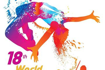 World Athletics Day poster ()