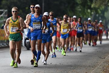 Competitors at the 2016 IAAF World Race Walking Team Championships (Getty Images)