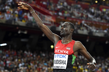 David Rudisha wins the 800m at the IAAF World Championships Beijing 2015 (AFP / Getty Images)