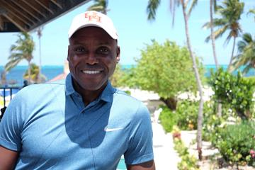 Carl Lewis in Nassau (Thomas Byrne)
