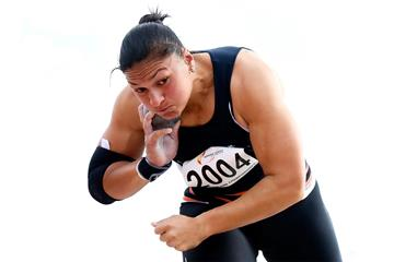 Valerie Adams at the 2013 New Zealand Championships (Getty Images)