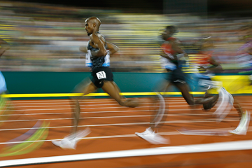 Mo Farah in action in the 10,000m (Getty Images)