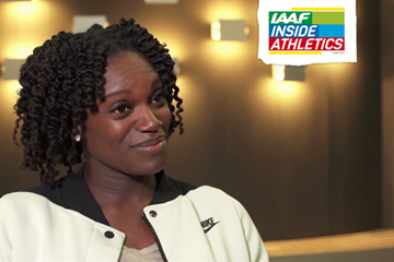 Dawn Harper Nelson on IAAF Inside Athletics (IAAF)