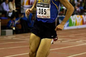 Jesús España competing in the Spanish Champs in Seville (Juan Jose Úbeda)