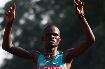 John Kelai captures the Commonwealth Marathon title in New Delhi (Getty Images)