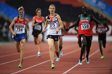Alfred Kipketer of Kenya wins 800m gold at the 2013 World Youth Championships (Getty Images)