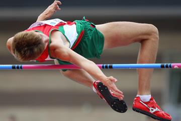 Belarusian high jumper Andrei Skabeika (Getty Images)