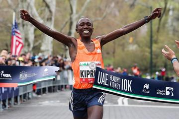 Rhonex Kipruto clocks 27:08 in New York (NYRR/organisers)