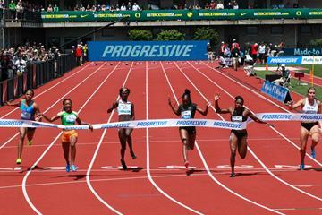 Marie-Josee Ta Lou takes the Eugene 100m showdown (Victah Sailer)